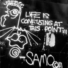 Life is confusing at this point jean-michel basquiat artwork | Jean Michel…