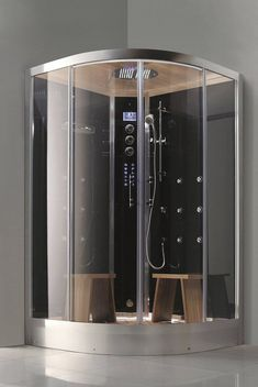 Hamilton Luxury Steam Shower By Aquapeutics   20 Showers Drake Should Buy |  Complex CA