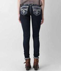 Rock Revival Boris Skinny Stretch Jean - Women's Jeans   Buckle