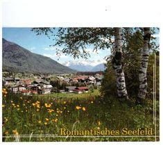 Romantic Seefeld, Tirol, Austria, Gruss aus Seefeld Rare Picture Postcard Tirol Austria, Picture Postcards, Felder, Rare Pictures, Poster, Mountains, World, Nature, Travel