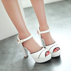 Like and Share if you want this  Women wedding shoes ladies platform white high heel sandals girls strappy sandale talon haut 2016 new arrival  plus size M2     Tag a friend who would love this!     FREE Shipping Worldwide     Get it here ---> http://onlineshopping.fashiongarments.biz/products/women-wedding-shoes-ladies-platform-white-high-heel-sandals-girls-strappy-sandale-talon-haut-2016-new-arrival-plus-size-m2/