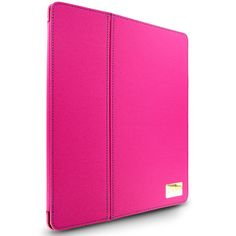 Cellairis Trek Folio for Apple iPad 2/New iPad - Hot Pink