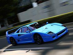 Italian Exotic Icons: Ferrari F40