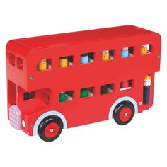 LONDON BUS Red London bus wooden toy | Buy now at Habitat UK