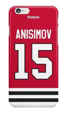 Artem Anisimov from Columbus phone case