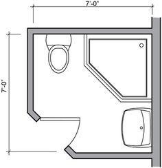4 x 6 bathroom layout - Google శోధన | Bathroom designs in ...