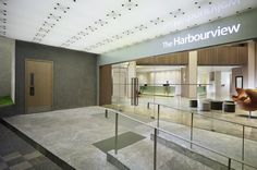 Hotel Entrance, The Harbourview, Wanchai, Hong Kong