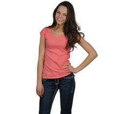 Fashion Corner Womens Layering Cap Sleeve Tee at Amazon Women's Clothing store