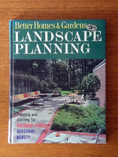 If you want an amazing mid century modern landscape, hunt up this book. You will feel like Don Draper will be coming over for a Old Fashioned!!!
