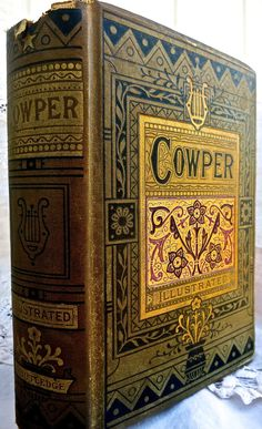 The Poetical Works Of William Cowper Illustrated By by mybonvivant, $75.00
