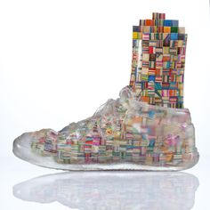 Haroshi's:  Foot with Invisible Shoe 6 http://jonathanlevinegallery.com/?method=Exhibit.ExhibitArt=AD9F25AA-9F27-E27F-4046DB5B495563B4=62E96E9A-19DB-5802-E09933BA5A478274=8=4