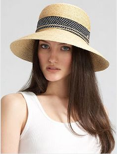 Raffia Hat by Helen Kaminski    http://lindsilane.styleowner.com/recommendations_for/3282-European-Vacation