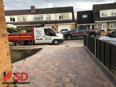Here is another driveway installation by the team at SD Home Improvements in Bristol. Your local and professional Bristol paving specialists. We removed the old concrete driveway that ran down to the garage and extended the driveway into the garden area so we could open up the entrance to the...