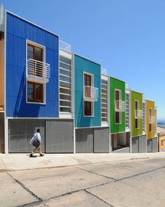 Lofts en pendiente vivienda recomendados arquitectura chilena