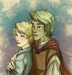 Viana y Uri (Donde los arboles cantan)