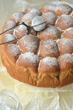 Brioche Buchty à IG bas - low carb - au citron et à la crème de coco - ma nouvelle meilleure recette de brioche à IG bas, ultra moelleuse - par Fromage ou dessert ? Dessert !!!
