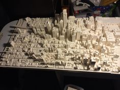 Look: A huge model of Center City built out of Legos!