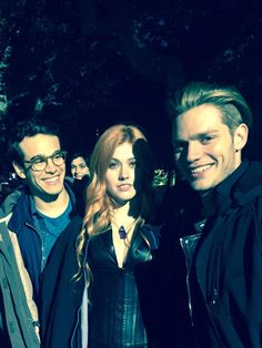 Kat/Clary, Alberto/Simon and Dom/Jace