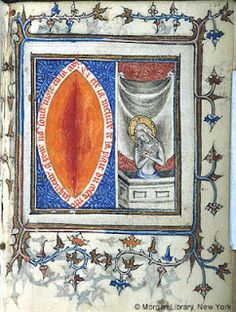 #french #mss Man_of_Sorrows_and_Wound_(ca._1375)._The_Pierpont_Morgan_Library,_New_York,_M.90,_fol.130