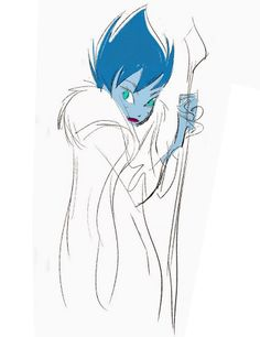 Character Designs from Frozen by Bill Schwab