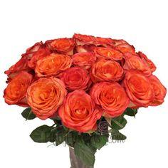 $109/50 Roses--High And Orange Magic Rose Bunch350 b7a8bd18