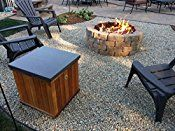 FR24CK+: Complete 24″ DELUXE Fire Pit Kit 316 Stainless Convert Existing Wood Fire Pit to Propane; Lifetime Burners all 316 Stainless (not Lessor 304). See EasyFirePits.com Gallery!