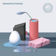 Pinkshinyultrablast hail from St. Petersburg in Russia and this is the band's blistering wall-of-soundish new album 'Grandfeathered'.