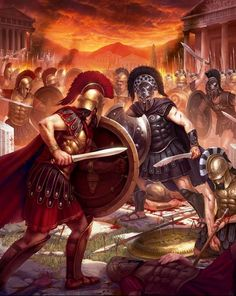 Sparta: War of Empires - Loading screen by Samarskiy on DeviantArt Ancient Sparta, Ancient Rome, Ancient Greece, Greek History, Ancient History, Greco Persian Wars, Spartan Warrior, Roman Warriors, Roman Empire