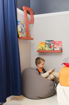 DIY, boy room, bedroom, reading nook --one in both boys room or just in the play room??