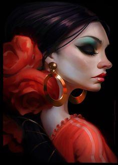 ArtStation - Rocio de Flamenco, Daniel Orive