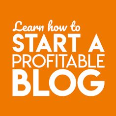 How to start a blog (sidebar ad)