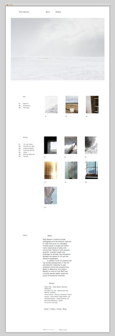 The Web Aesthetic — Polly Stanton http://mindsparklemag.com/?websites/2013/05/01/polly-stanton.html