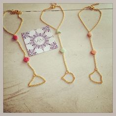 Chain bracelets with attached ring shells dolphin summer accessories handmade layal glyfada