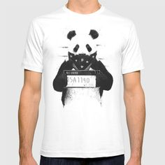 Check out society6curated.com for more! @society6 #fashion #style #tshirt #shirt #clothing #accessory #accessories #gift #idea #buy #shop #shopping #sale #fun #art #awesome #drawing #illustration #design #panda #bear #black #white #badpanda