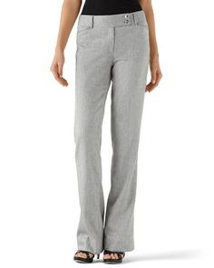 White House | Black Market Gray Suit Pant