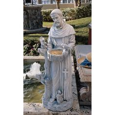 """St. Francis Statue, Large - 37"""" H 