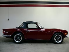'69 TR6 TR6 is one of my ALL-TIME Favorites along with a '66 Mustang 2+2 & a '70 Plymouth Duster 6-Pack...