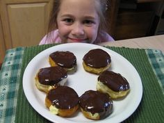 Mommy's Kitchen: Boston Creme Pie Donuts