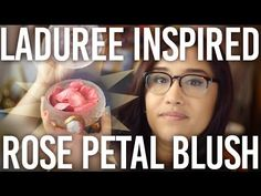 I was inspired to make a Laduree-like blush pot and rose petal blush after seeing countless photos floating around on the internet. In this video I'll show y...