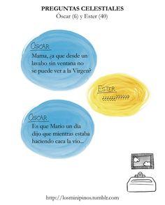 #losminipinos #esterytelling #frases #frasesdeniños #quotes #padres #virgen