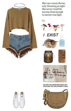 """the world don't owe you anything"" by mhipom ❤ liked on Polyvore featuring Retrò, Zara, Topshop, Converse, Antik Batik, Luna, Essie, women's clothing, women and female"