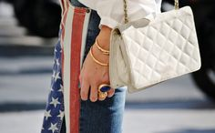 Fireworks, BBQs and some good old fashioned family time. Celebrate the Fourth of July long weekend in these 12 cool and totally wearable plays on the American flag. #12WaystoStyletheFourthofJuly
