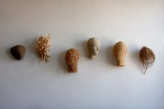 heads, 2015 mixed media fibers ann b coddington