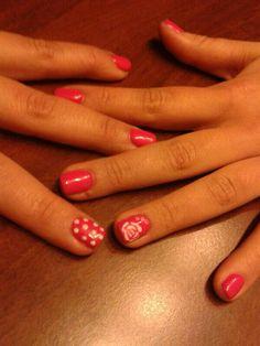 Nailart pink