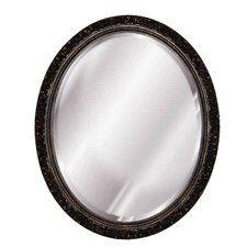 Baroque Oval Mirror