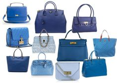 Blue Purses, created by shellyl on Polyvore