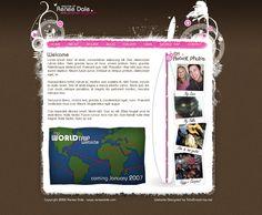 Renee Dale Personal Website by Swiftau.deviantart.com on @deviantART