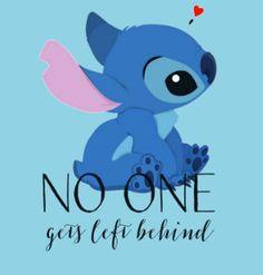 Lilo and Stitch Ohana No One Gets Left by CrazyCorgiLadyDesign