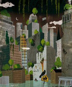 Apocalypse 2012, Heeb Magazine, by  Adrià Fruitós