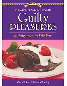 QVC Guilty Pleasures Cookbook by Gwen Mckee and Barbara Moseley